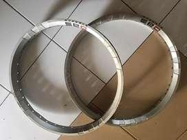 Velg 17 dbs silver