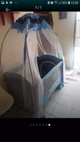 Jual tempat tidur bayi pliko