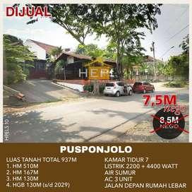 Tanah Pusponjolo Raya Bonus Rumah Tengah Kota Semarang