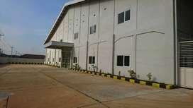Di sewakan pabrik baru 5M/ thn