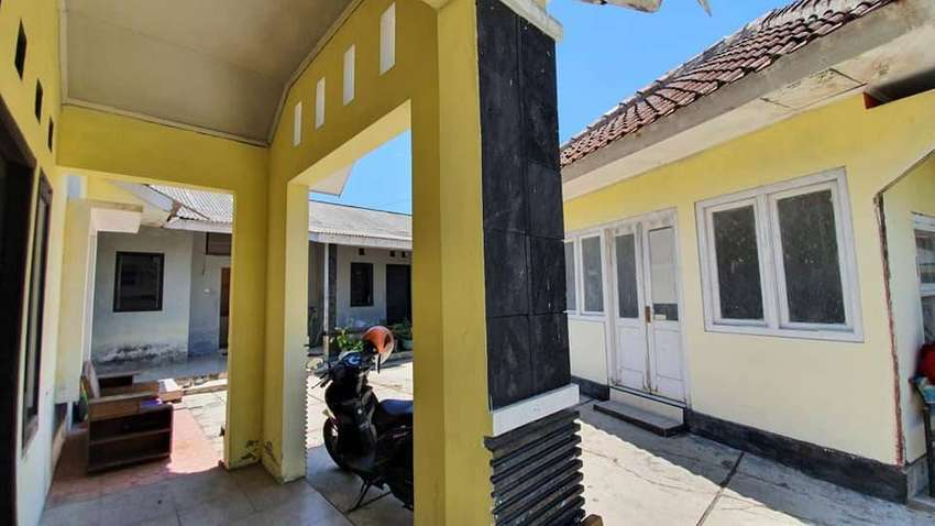 RSH 330 SLEMAN#Dijual Rumah Kost Murah Tanah Luas Pinggir Jalan # 0