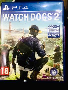 Brand new Ps4 watch dogs 2 game seal intact