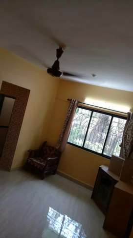 1bhk semi furnished flat for rent 23000/-