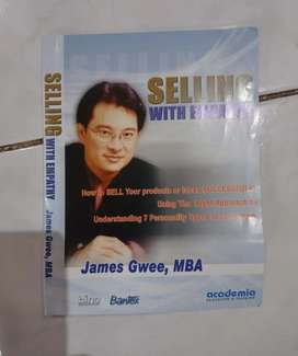 CD audio Marketing selling with empathy by JAMES GWEE new old stock