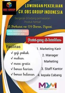 Lowongan pekerjaan OBS GROUP INDONESIA