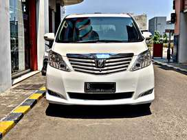 Toyota Alphard 2009/ G premium Sound / low km / wanna PUTIH / Termurah