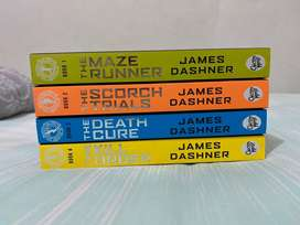 The maze runner, scorch trials, death cure, kill order full set new