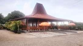 Joglo Kayu Jati Ukir Cocok untuk Resto Kafe Villa dan Rumah Tinggal