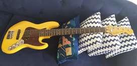 Fender Deluxe Active Jazz Bass Mexico 5 String TURUN HARGA