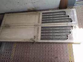 Heavy duty folding safety Iron door for sale