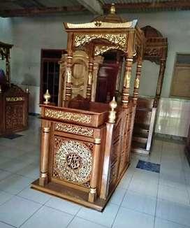 Podium masjid,mimbar kutbah masjid