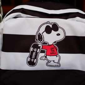 Vans backpack snoopy