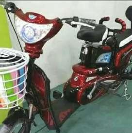 Sepeda Listrik EARTH GOLD / bisa COD