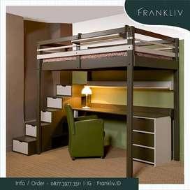 loft bed - dipan tingkat - kasur tingkat - ranjang susun