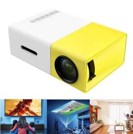 A Mini LED Projector