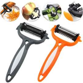 3 In 1 Multifunctional Peelers Zesters Grater Slicer 360 Degree Rotary