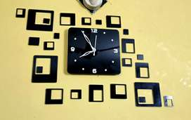 Trendy Acrylic Clock vol 24