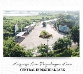 Dijual tanah pergudangan central Industrial Park sidoarjo