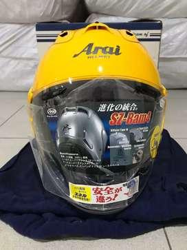 Arai SZ Ram 4 Yellow Limited Edition Size L