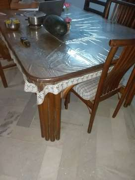 Want to sell 6 seater designer Dinning table