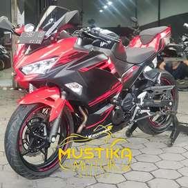 Kawasaki All New Ninja 250 Abs 2018 Km1000 Like New-Murah Mustika