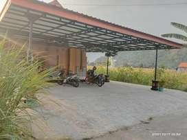 Dikontrakan rumah baru besar 5 kamar bersih view sawah dan perbukitan