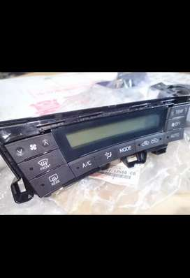 JAPAN IMPORTED TOYOTA HYBRID PRIUS ZVW30 AC CONTROL PANEL OF DASHBOARD