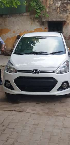 Hyundai Xcent 2015 CNG & Hybrids Good Condition