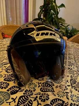 Helm ink TMAX hitam black solid