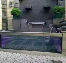 Jual batu/kolam koi