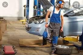 Head technician/Service head for premium cars.