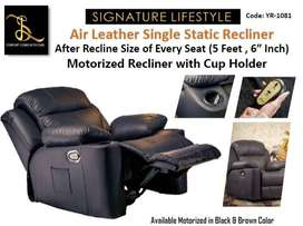 Motorized Recliner Sofa (Signature Lifestyle)