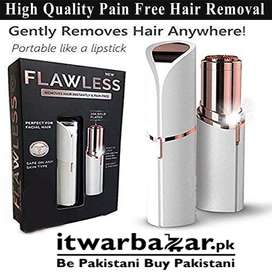 Buy Flawless Painless Face Hair Remover Razor - Home Delivery with COD