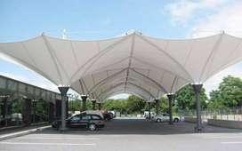pusatnya pemasangan canopy membrane