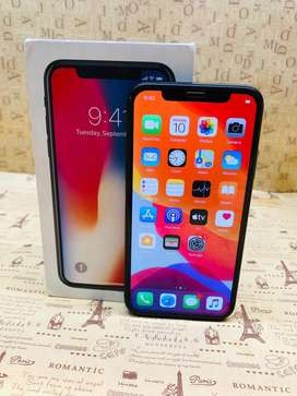 Iphone x 256gb face id not working black colour