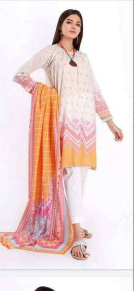khaadi 3 piece original
