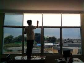 Sedia jasa pasang kaca film Kantor Rumah di solo raya