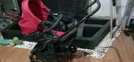 Stroller bayi kereta dorong bayi merk ELLE