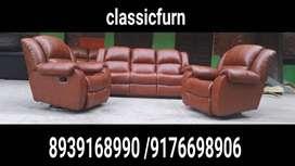brand new simple model full set recliner sofa