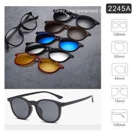 Kacamata Clip On 5 Lensa