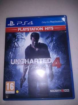 Uncharted 4-ps4 console