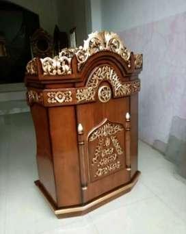 mimbar masjid model biasa