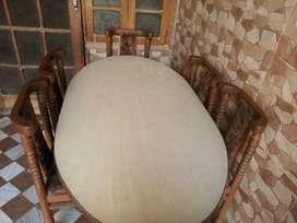 Premium Furniture 6 Seater Dining Table