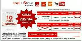 Wifi & tv channel INDIHOME