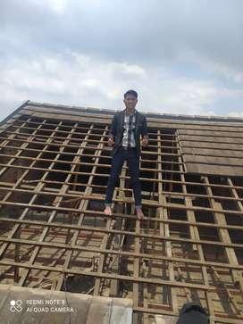 Teras kanopi baja ringan, renovasi atap rumah, plafon dll