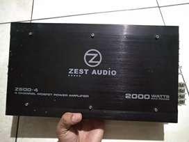 Audio double din power amplifier 2000watt
