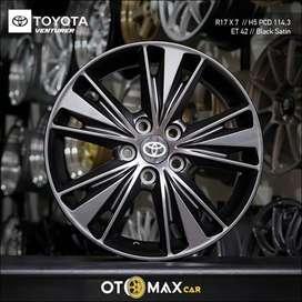 Velg Mobil Toyota Venturer Ring 17 Satin Black