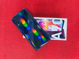 Samsung A70 6GB RAM 128GB ROM WARRANTY REMAINING