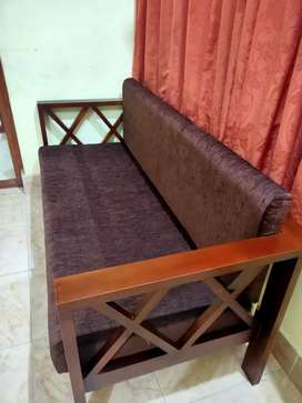 New wooden Sofa available  99959(call)8I459