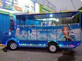 kereta mini wisata frozen teruji fullset odong odong potongan 1 jt